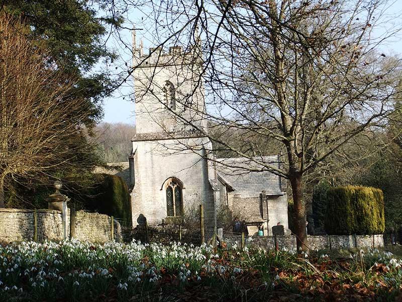Colesbourne Church