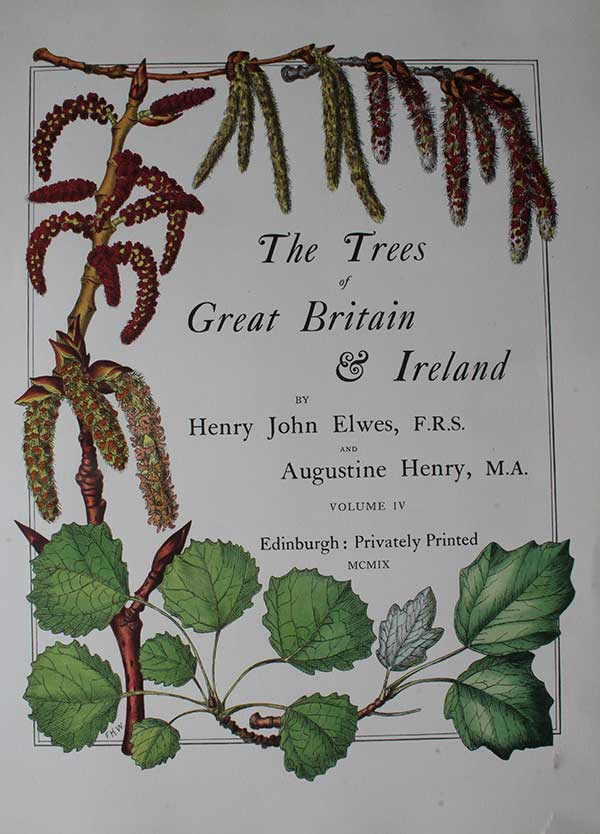 The Trees of Great Britain Book Cover